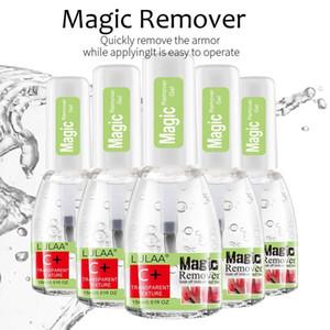 NOVO prego mágica removedor polonês 15ml Explosão UVLED Gel Soak Off Remover Gel polonês para manicure rápida prego Cleaner Saudável
