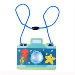 크리 에이 티브 매직 만화경 판지 종이 장난감 키즈 클래식 시뮬레이션 다채로운 카메라 폴리 프리즘 장난감 아기 Educaional 장난감
