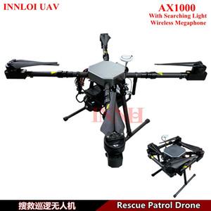 INNLOI беспилотный летательный аппарат DIY Multi Rotor drone Long Flight Rescue Patrol Drone с поисковым светом беспроводной Мегафон аксессуары взлетный вес 15 кг