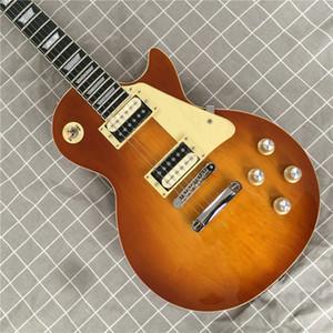 Бесплатная доставка одна часть шеи одна часть электрической гитары тела, Upgrade Tune-O-Matic бридж гитары клена гитары