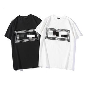 G2 نساء الصيف MSGM تي شيرت زوجين خطاب العلامة التجارية طبعت قمم القطن عارضة قصيرة الكم O-Neck Tshirt Blacksize S-XXL