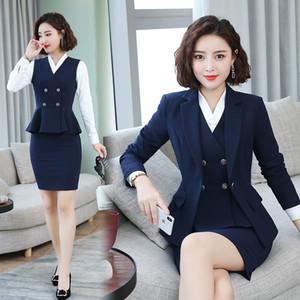 P MA3 jia3 profesyonel kadın takım elbise moda mizaç mülakat elbise ilkbahar ve sonbahar dönemi ve otel salonu sta yap