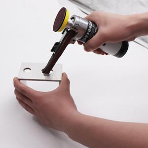 Hot New Electric Belt Sander Mini Ponceuse électrique Moulin à petit Ponceuse à main avec Sandin