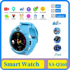 Q360 Smart Kids Montre GPS avec caméra WIFI Emplacement enfant SOS Anti-Perdu moniteur Tracker bébé montre-bracelet