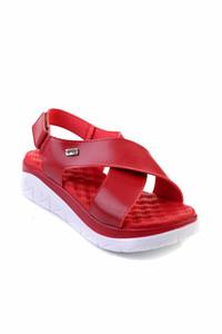 Bambi Kırmızı Kadınlar Sandalet F0332603309