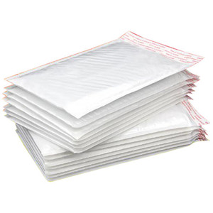 White Pearl Film Bubble Envelope Courier Bags Waterproof Packaging Mailing Bags free shipping