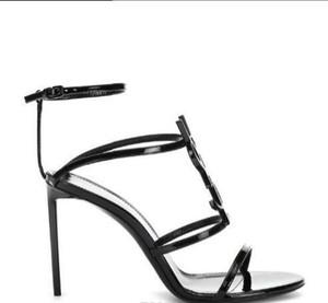 abito unico sandali alfabeto da sposa 2019 di alta qualità delle donne della pelle verniciata di stile dal design di lusso a spillo spillo scarpe sexy