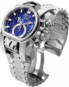 Швейцарский кварцевый 5040.D 1042 Invicta Reserve Bolt Зевс Мужчины Модель 25207 - Мужские часы 52мм двойной часовой пояс из нержавеющей стали