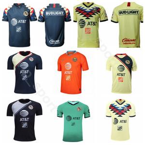 2019 2020 Meksika Kulübü Amerika Futbol 11 IBARGUEN Jersey Erkekler 5 RODRIGUEZ 24 PERALTA 8 MATEUS 1 MARCHESIN 9 MARTINEZ Futbol Gömlek Kitleri