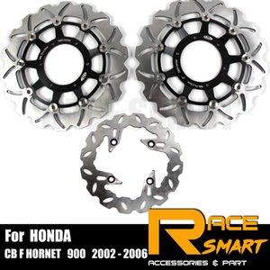 Floating Motorcycle CNC avant arrière Disque de frein Disque Pour CB F HORNET 900 2002 - 2006 Motocycles Brake Rotors 2003 2004 2005