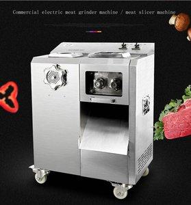Große vertikale Fleischschneidmaschine Maschine Slicer Multifunktions- Fleischschneidemaschine automatische entfernbare Messergruppe Fleischschneidemaschine