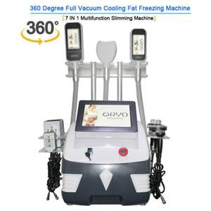 Cryolipolysis body contouring 360 cryo machine laser slimming beauty machine cavitation rf body slimming face lifting machine