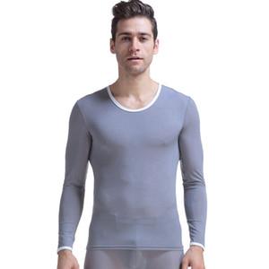 Nueva llegada Long Johns Winter Ropa interior térmica para hombres Ropa interior termo masculina Winter Warm Shirt Hombres Long Johns Ropa interior para hombres