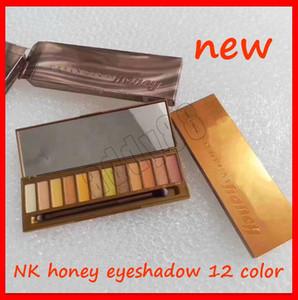 2019 Eye Makeup N Miele ombretto Palette 12 colori opachi Shimmer Eye Shadow Palette Cherry calore Ombra