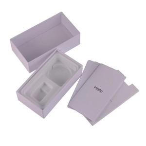 아이폰 기가 7 개 8 플러스 X 다운로드 XS XS 최대 수동 스티커와 미국 EU 영국 버전 휴대 전화 소매 빈 조립 포장 상자 포장