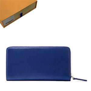 donne zippy wallet portafoglio portafoglio dal design di lusso delle donne borse del progettista borse frizione portafogli in pelle di design titolare della carta borsa con scatola