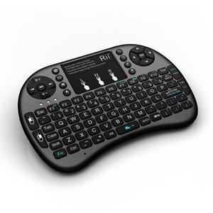 100% originale Rii i8 retroilluminato mini tastiera Rii direttamente fornisce 2.4G i8 + mini tastiera touchpad