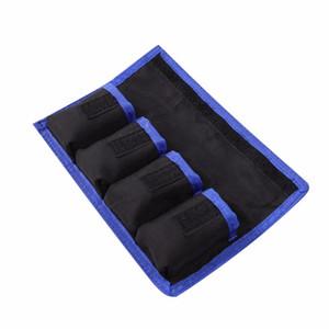 Meking Batterie au lithium Pochettes de rangement Sac pochette en nylon étanche pour Canon LP-E6 LP-E8 Sony NP-FW50 EN-EL14 EN-EL15 4 Livraison gratuite nominale