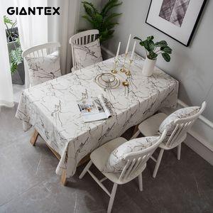 GIANTEX decorativi Tovaglia Tovaglia rettangolare Tovaglie pranzo Tavolo da pranzo copertura Obrus Tafelkleed mensola mesa nappe U2285