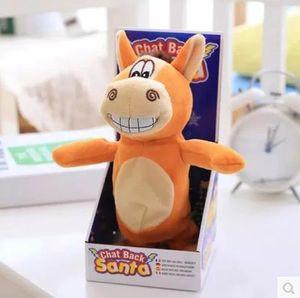 전기 유니콘 봉제 인형 장난감 전기 리틀 동키 말 인형 동물 인형 이야기는 어린이 크리스마스에 대 한 재미있는 장난감을 노래 걷기