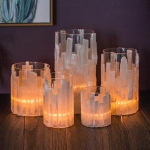 bougie créative simple Coupe Candlestick bar salle de modèle espar de fleurs entrée de l'hôtel logiciel de bureau installé ornements vase