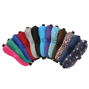 3D Sleep Mask Natural Sleeping Eye Mask Eyeshade Cover Shade Eye Patch Blindfold Travel Eyepatch 6 color in stock