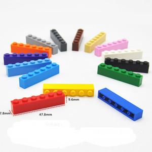 Livraison gratuite 1 * 6 blocs de construction Ville de bricolage briques Creative modèle en vrac Figurines Jouets éducatifs compatibles Toutes les marques