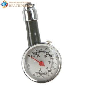 Vehículo de metal exacto Indicador de presión de neumáticos del coche Medidor de presión de aire del neumático automático Herramienta de diagnóstico de medición Herramienta de diagnóstico Reparación de automóviles