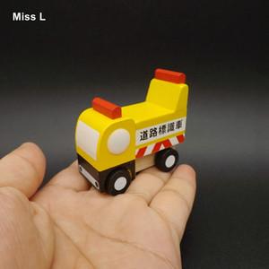 Baby Wood Car Engineering Véhicule Modèle Mini Creative Toys Enfants