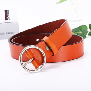 Women's simple all-match pure cowhide black wide and Student jeans belt genuine leather student decorative jeans belt