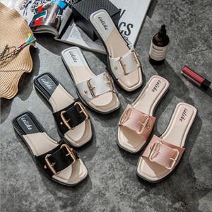 2020 Yeni Plaj Düğün Ayakkabı Terlik Slaytlar Yaz Rahat Tarzı kaymaz Kapalı ve Açık Sandalet Ev Sapato Masculino Çevirme