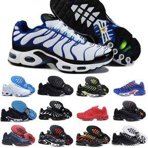 All'ingrosso 2019 nuovi Tn Scarpe uomo a buon mercato Nero Bianco Rosso Air TN Inoltre Sports Shoes Ultra TN Classic Sneakers Requin Designer