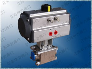 Q661N three-piece high pressure ball valve