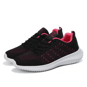 Sports Shoes For Women Outdoor Comfortable Mesh Walking Jogging Ladies Light Flats Shoes Breathable Soft Athletics Weaving