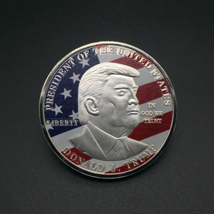 Moneda de oro Donald Trump Moneda conmemorativa que Estados Unidos sea la moneda de Gran Nuevamente 45a 2020 del presidente de la insignia del metal Craft Supply VT0635
