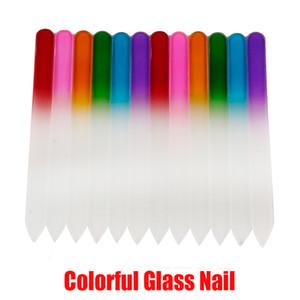 매니큐어 UV 폴란드어 도구에서 주식 다채로운 유리 네일 파일 내구성 크리스탈 파일 네일 버퍼 NailCare의 네일 아트 도구