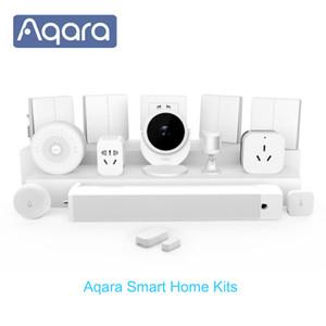 Sensore Acqua Cambia fotocamera Aqara Hub Gateway3 Smart Home Kit parete senza fili per porte e finestre sensore modulo relè Proposta MI casa