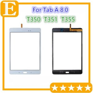 DHL Touch Screen Digitizer Glass Lens with Adhesive Tape for Samsung Galaxy Tab A 8.0 T350 VS T351 T355 Replacement Parts