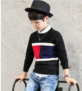 Children's sweater for boys Children's clothing autumn Winter new Keep warm Kids sweater pullover cardigan 4-12 years