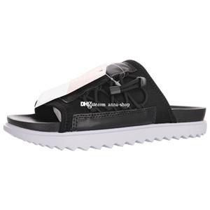 Asuna blanc noir pour glisser flip Flops des hommes Sandalias de Sandles Femmes Slides Hommes Femmes Chaussons Chaussures de plage Sandales Sandle Slipper