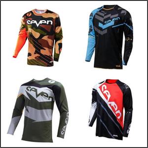 Motosiklet Formalar 2020 Moto XC Motosiklet Yaz Dağ Bisikleti Motokros Jersey XC Tişörtlü Elbise