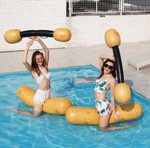 aufblasbares Wasser Paar gegen eine Reihe von Wasser Unterhaltung Spielzeug spielt Ausrüstung Sport treibt Wasserbett CZ307