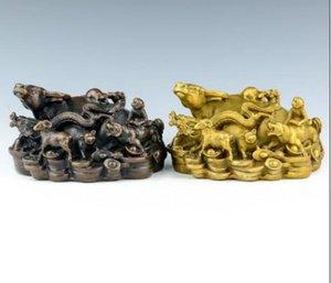 Yeni + + Saf bakır sığır işe Yuan Yuan Şehir sığır on iki hayvan işaretleri