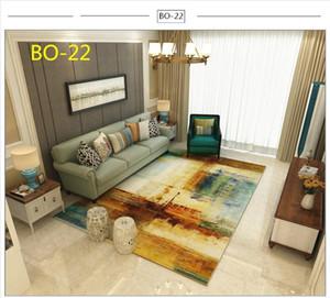 80cm * 160cm Nordic 3D Imprimé Grand Tapis Galaxy Tapis doux Flanelle Carpettes anti-dérapant Tapis pour Living Room Home Decor Parlor Tapis