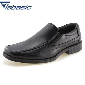 Jabasic Kids School Uniform Dress Shoes Slip-on Oxford Loafers Soft Pu Leather Casual Shoes Boys Loafers Boys Shoes Child Y190525