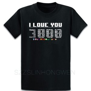 I Love You 3000 Times Avengers Iron Man T Shirt Famous Trend Tee Shirt Summer Style Original Round Neck Personalized Funny Shirt