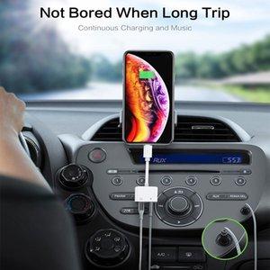 2 en 1 Ecouteur Adaptateur Jack pour Apple iPhone 11 pro max 7 8 Plus x xr xs max IOS 12 jack 3,5 mm convertisseur Aux Splitter Câble