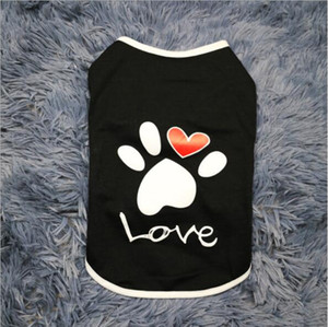 Puppy Coat for Puppy Clothes Classic Doggie Sweatershirt,two colors,love vest teddy bear clothes vest wholesale