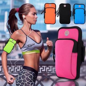 Sport che fanno funzionare sacchetto del braccio Packs esterna sacchetto mobile Packs telefono cassa del bracciale a disposizione per 4-6 pollici universale del telefono ZZA1076