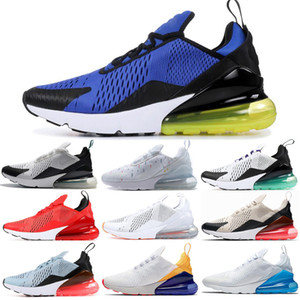 Nike Air Max 270 Shoes Chaussures de course Triple White Black Warriors Habanero Rouge Throwback Future Philippines Femmes Baskets Athletic Sports Sneakers Discount